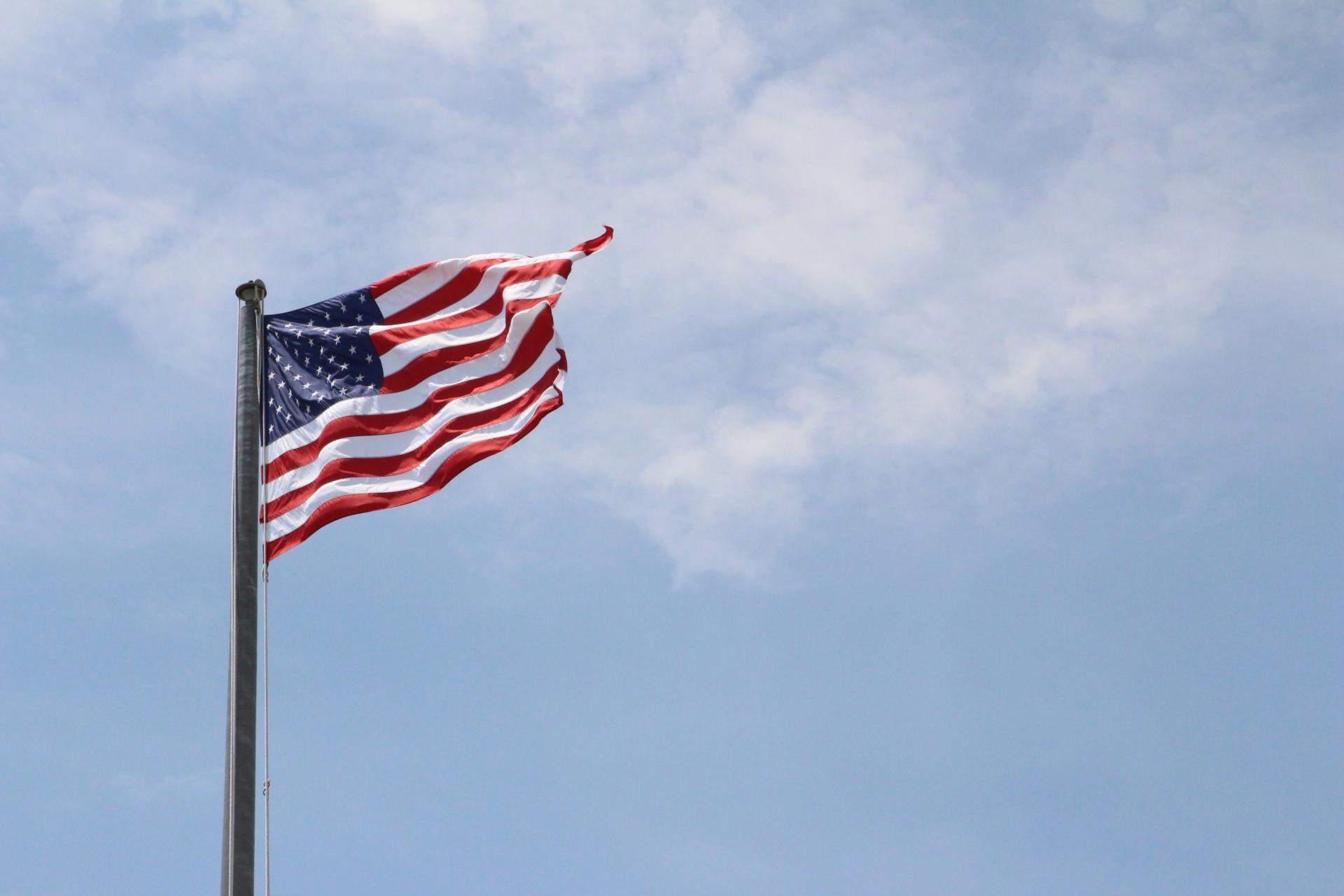 American flag at Montauk_3
