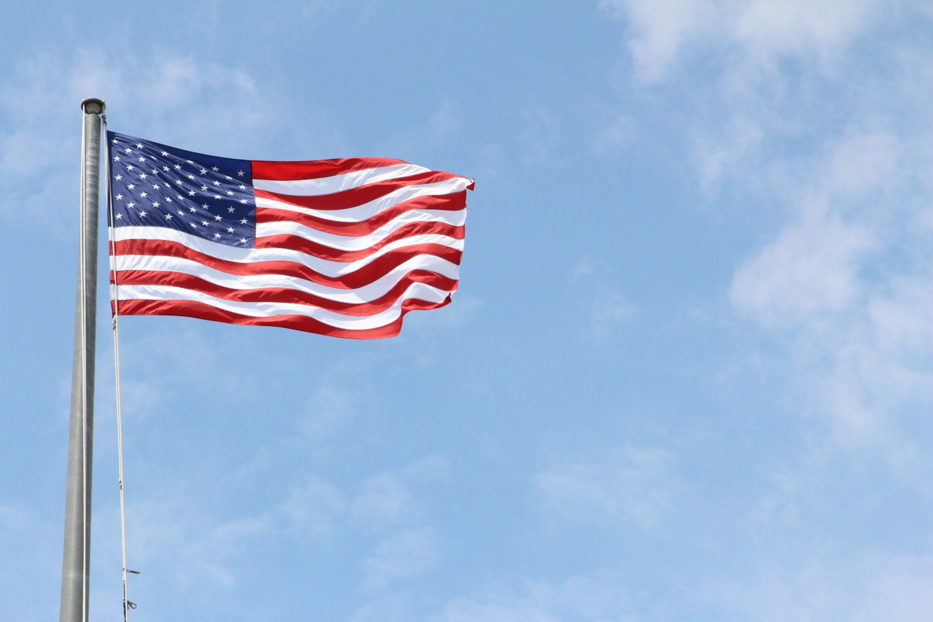 American flag at Montauk_5