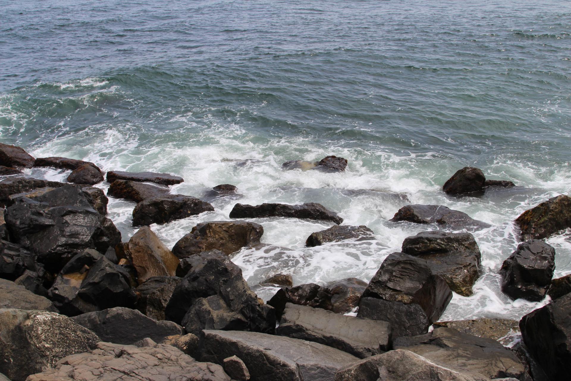 Rocks at watrers edge_1