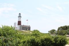 Momtauk Lighthouse on hill_3