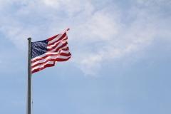 American flag at Montauk_2