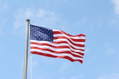 American flag at Montauk_6