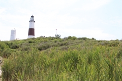 Momtauk Lighthouse on hill_6