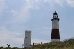 Momtauk Lighthouse on hill_7