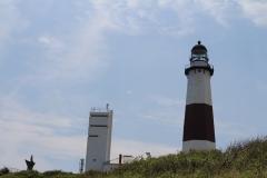 Momtauk Lighthouse on hill_8